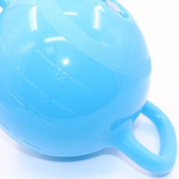 Yoga Fitness Kettle Bell 4-12LB Adjustable Water Kettlebell Dumbbell Double Handles Pilates Body Shaping Equipment new