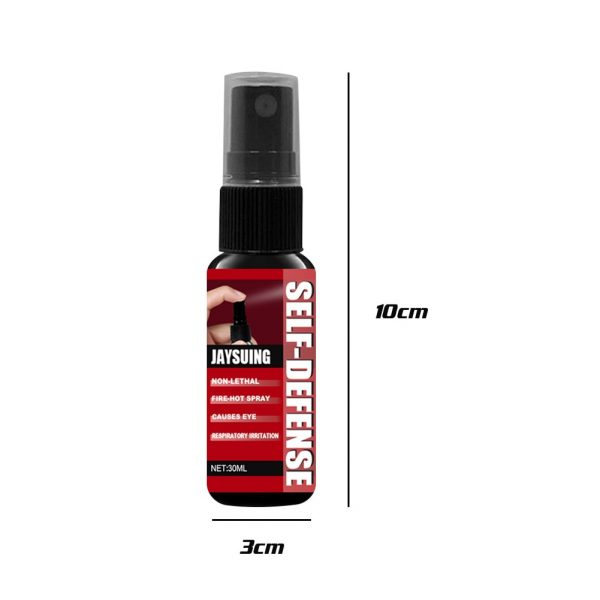 Women Anti Wolf Portable Emergency Long Lasting Travel Personal Safety Red Pepper Spray Liquid Non Toxic 30ml Self Defense