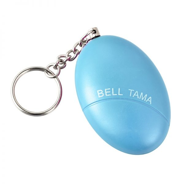 Self Defense Alarm 100dB Egg Shape Girl Women Security Protect Alert Personal Safety Scream Loud Keychain Emergency Alarm