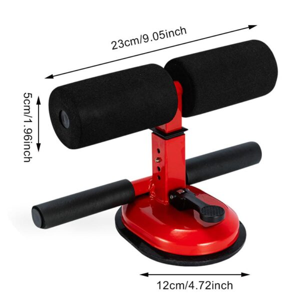 Gym Workout Abdominal Curl Exercise Height Adjustment Four-level Sit-ups Push-ups Assistant Feminina Lose Weight Ab Rollers