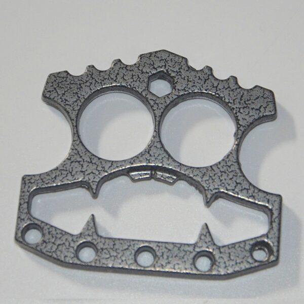 Durable Beer Bottle Opener Stainless Steel Skeleton Shape Window Breaking Tool Self Defense Knuckle Duster Kitchen Gadgets Tools