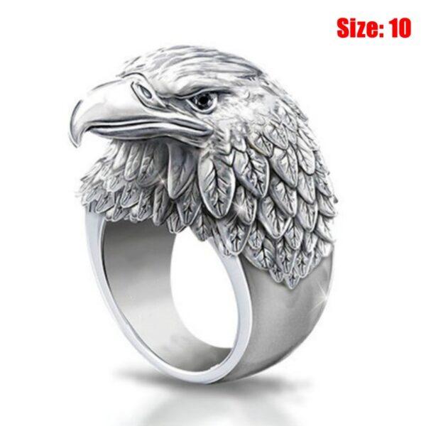 Eagle Ring Tactical Self Defense Ring Men/Women Portable Outdoor Survival Emergency Glass Breaker Punk Rings