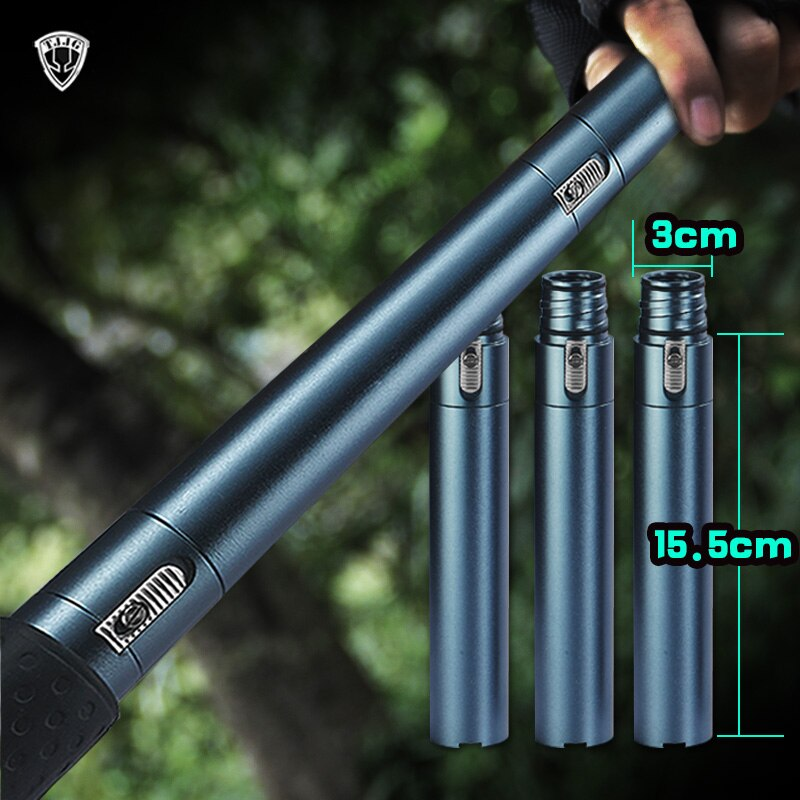 Hiking Multi Tool Outdoor Self Defense Stinger Stick Weapon Tactical Trekking Pole Alpenstock Hiking Camping Climbing equipments Emergency etc Backpacking