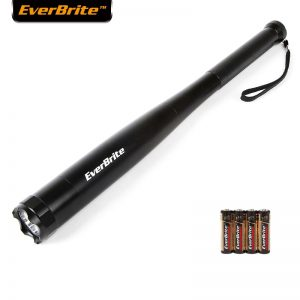Everbrite Baseball Bat LED Flashlight 300 Lumens Baton Torch Light Torch for Emergency And Self Defense Security Camping Light