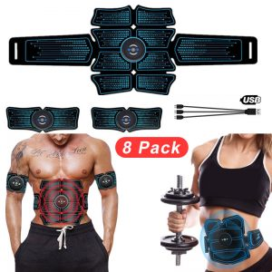 EMS Wireless Abdominal Muscle Stimulator USB Connect 8Pack Total ABS Hip Muscular Trainer Home Smart Fitness Equipment для живо