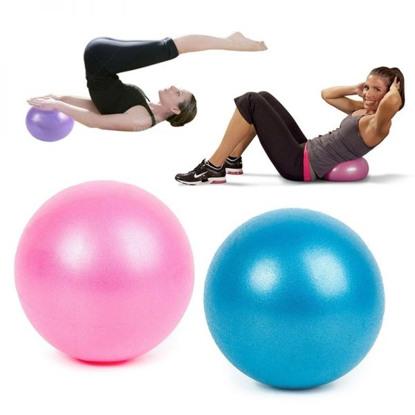 25cm Fit Ball Bubble Ball Balance Ballon Entrainement Balancing Pilates Yoga Ball Fitness Exercise Gymnastics Gym Home Training