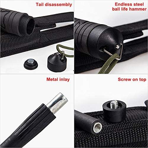 WDXUN 3-Section Telescopic Poles Trekking Poles, Portable Adjustable Walking Pole for Outdoor Hiking Climbing
