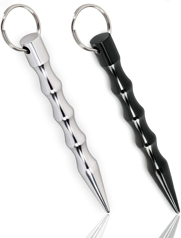Kaiyuan Dynasty Hand-held Aluminum Keychain Tool Sturdy Key Chain Tools for Key Hanging Parcels Carrying 2pc